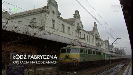 Dworzec Łódź Fabryczna - operacja na łodzianach - 12.01.2017