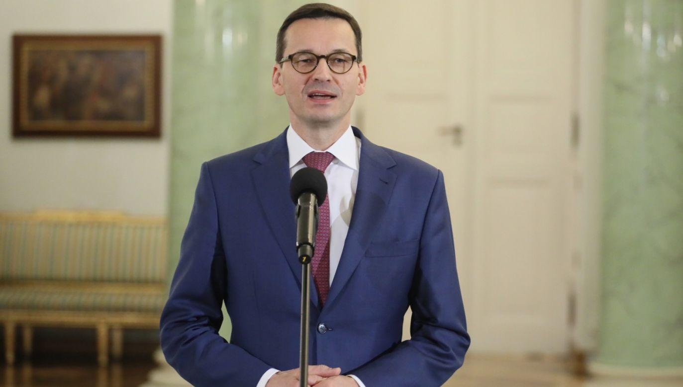 Mateusz Morawiecki (fot. PAP/Paweł Supernak)