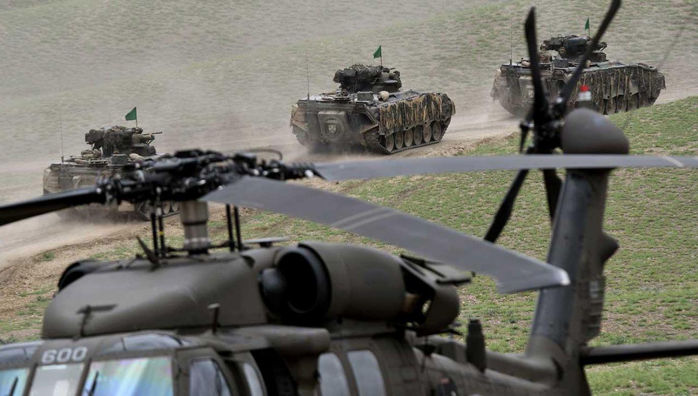 29 sojuszników wskazało, że Gruzja zostanie członkiem NATO (fot. REUTERS/Irakli Gedenidze)