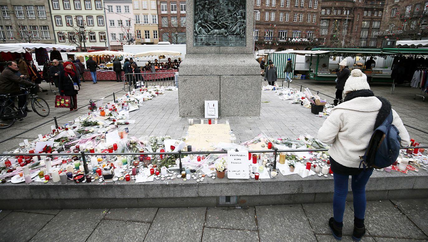 W wyniku ataku kilkanaście osób zostało rannych, w tym polski obywatel (fot. PAP/EPA/RONALD WITTEK)