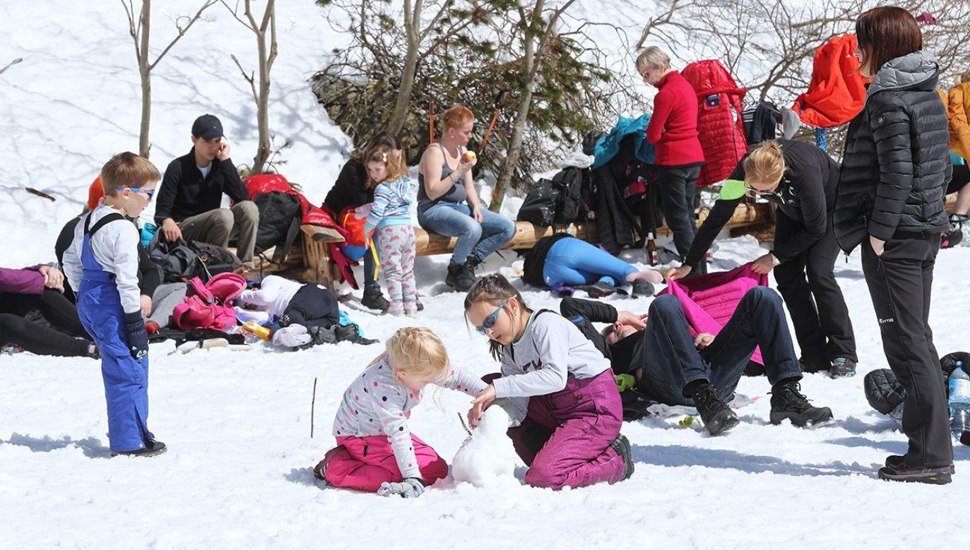 Nawrót zimy w Tatrach (fot. arch.PAP/Grzegorz Momot)
