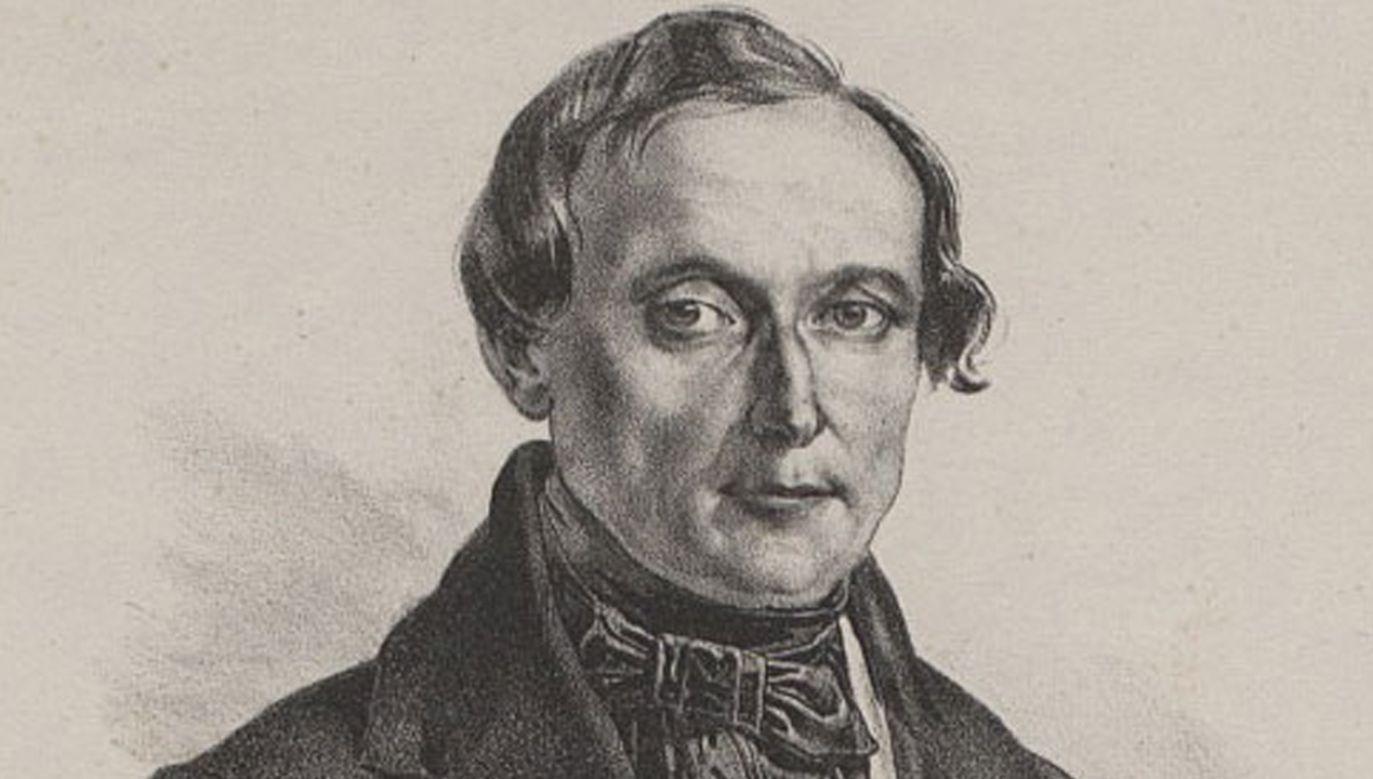 Jan Barszczewski zmarł w Cudnowie w 1851 roku (fot. be.wikipedia.org)