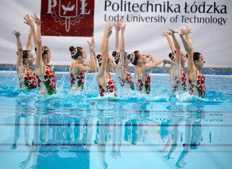 Piękno pływania synchronicznego zagościło do Łodzi