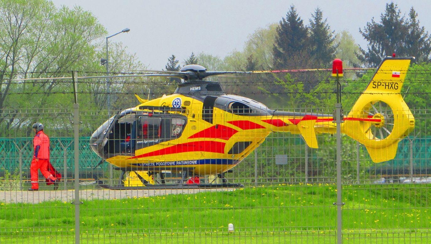 Dziecko przetransportowano samolotem LPR do szpitala w Grudziądzu (fot. Shutterstock/Przemyslaw Muszynski)