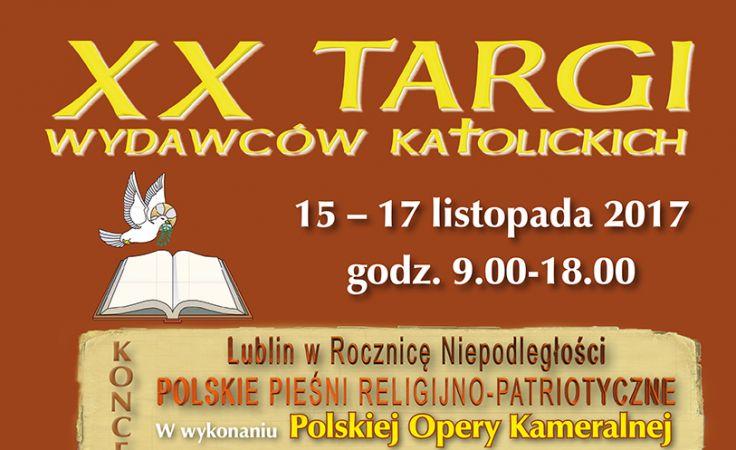 XX Targi Wydawców Katolickich (plakat organizatora)