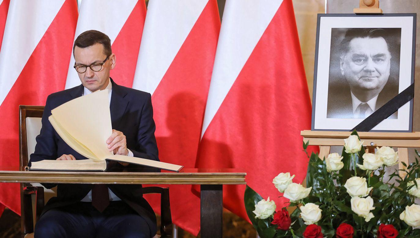 Jan Olszewski był premierem w latach 1991-1992 (fot. PAP/Paweł Supernak)
