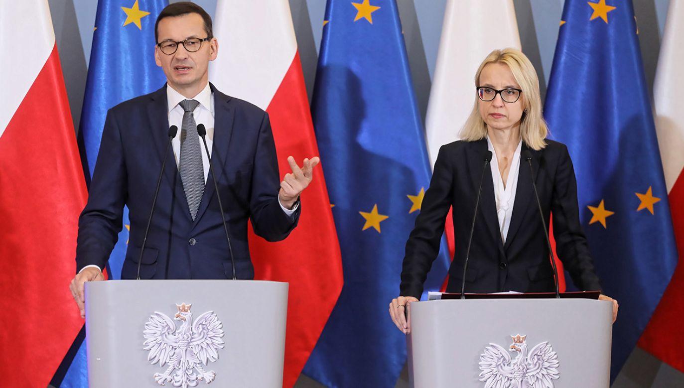 Rząd przyjął projekt budżetu na 2019 r. (fot. PAP/Paweł Supernak)
