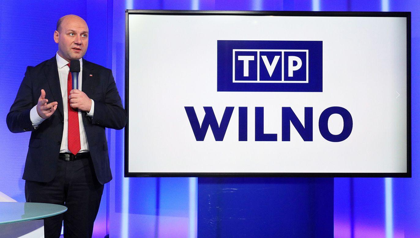Powstaje kanał TVP Wilno dla Polaków na Litwie (fot. PAP/Paweł Supernak)