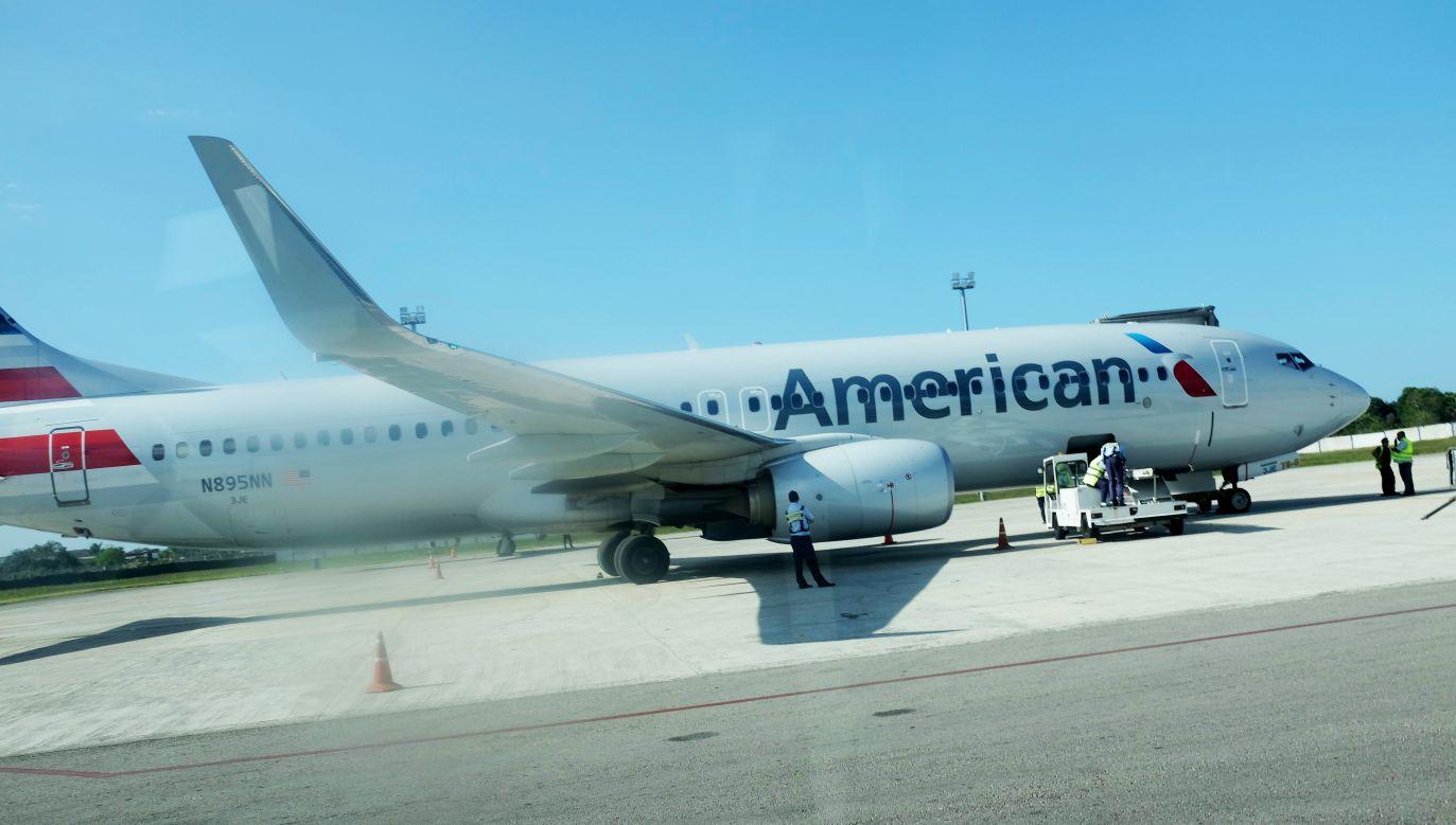 W kabinie samolotu American Airlines gwałtownie spadło ciśnienie, pilot zdecydował o powrocie na ziemię (fot.Joe Raedle/Getty Images)