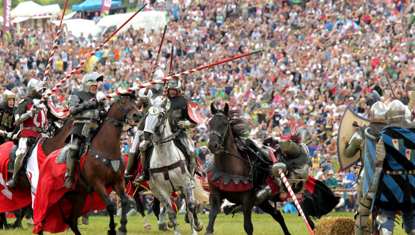 """The """"Days of Grunwald"""" festival is  the largest historical outdoor event in Poland. Photo: PAP/Tomasz Waszczuk"""