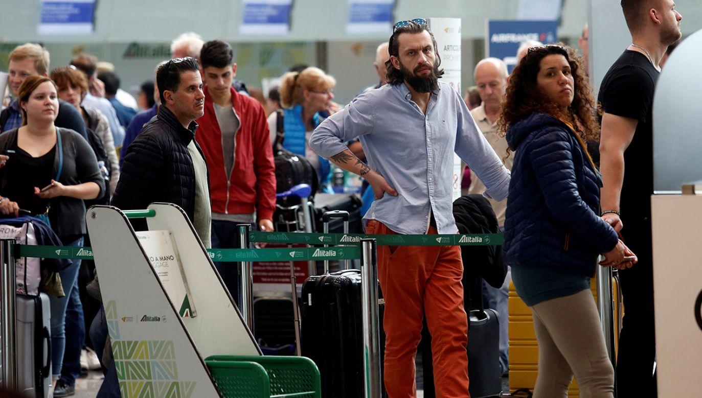 Fiumicino (fot. REUTERS/Remo Casilli)