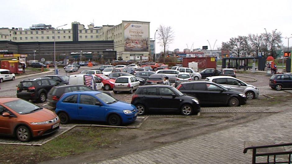 Nowy parking wielopoziomowy