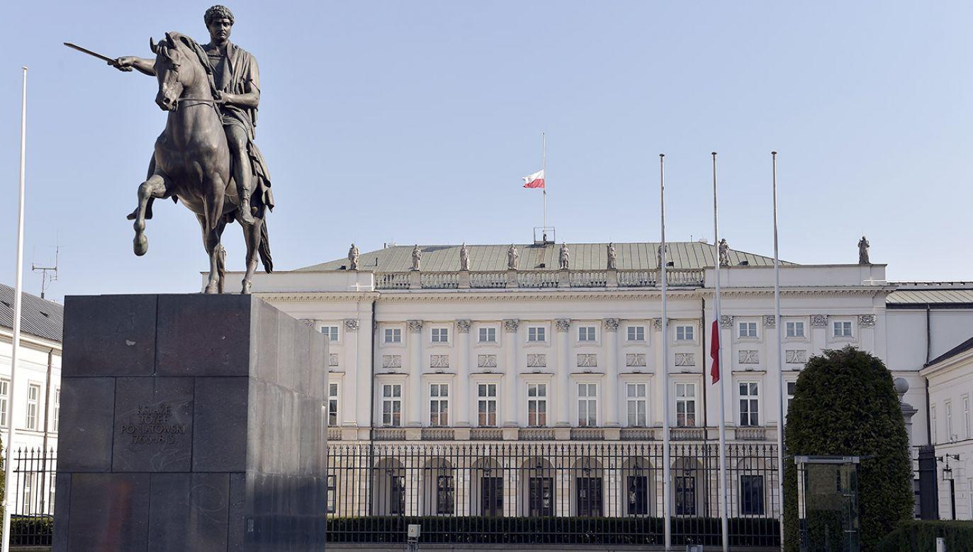Nagrania mają pokazać, czy Stefan W., który zabił prezydenta Gdańska Pawła Adamowicza, wcześniej próbował dostać się do Pałacu (fot. Adam Jagielak/Getty Images Poland/Getty Images)