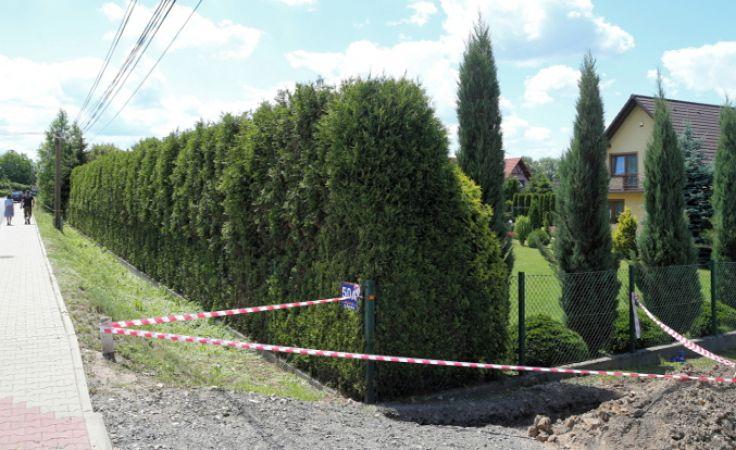 Foto. TVP3 KatowiceMiejsce gdzie doszło do wybuchu gazu w Pisarzowicach. Foto. PAP/Andrzej Grygiel