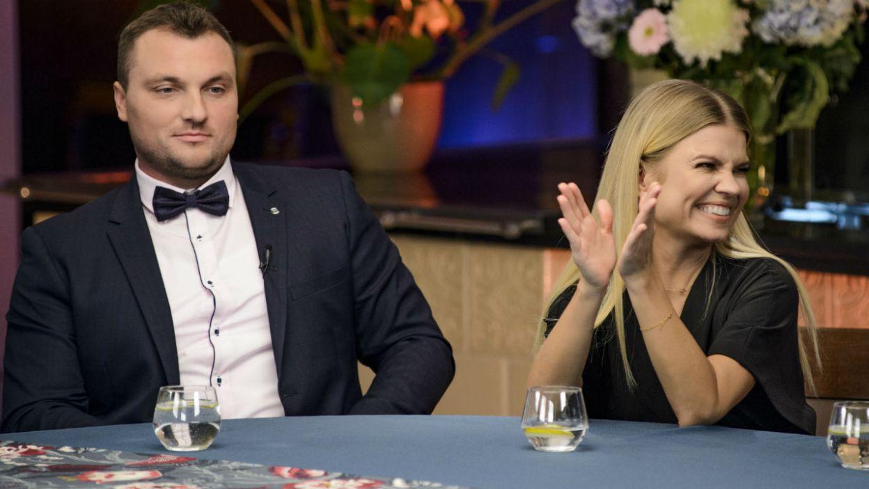 Powrót do pierwszych randek wywołał u Grzegorza uśmiech (fot. TVP)