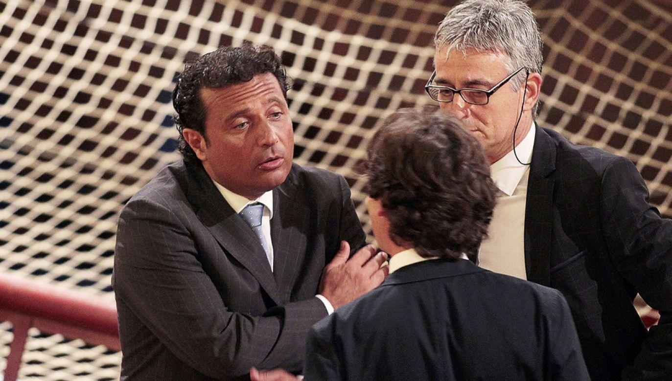 Francesco Schettino został prawomocnie skazany na 16 lat więzienia (fot. Gabriele Maltinti/Getty Images)