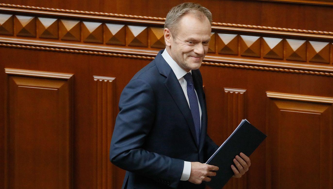 """""""Na pewno nie potrzeba dzisiaj w Polsce kolejnej, nowej partii politycznej"""" (fot. PAP/EPA/SERGEY DOLZHENKO)"""