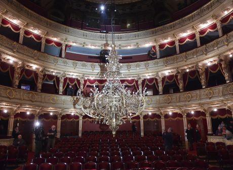 Niecodzienna operacja w Teatrze Słowackiego