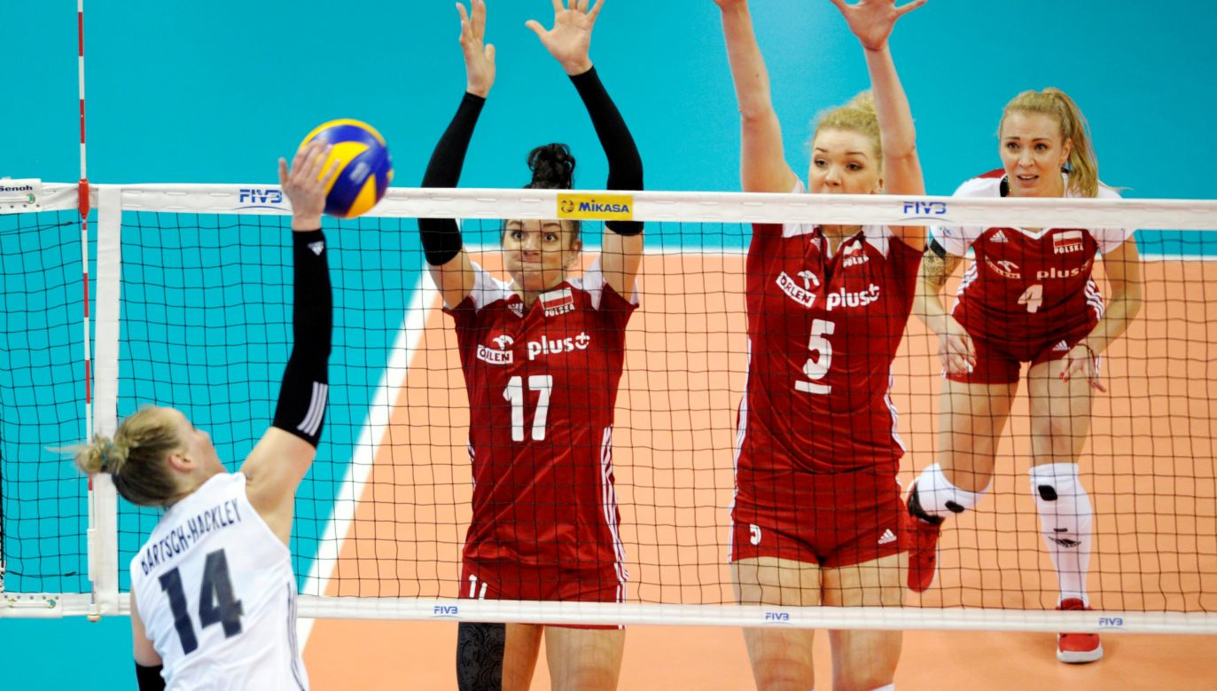 Poland women's national volleyball team lost to the US 1:3 in their first match during the Volleyball Nations League. Photo: Volleyball World