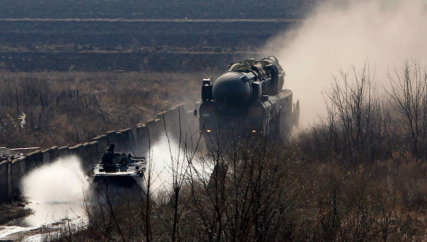 Władimir Putin zagroził rozmieszczeniem systemów broni mogących sięgać państw sojuszniczych (fot. REUTERS/Denis Sinyakov)