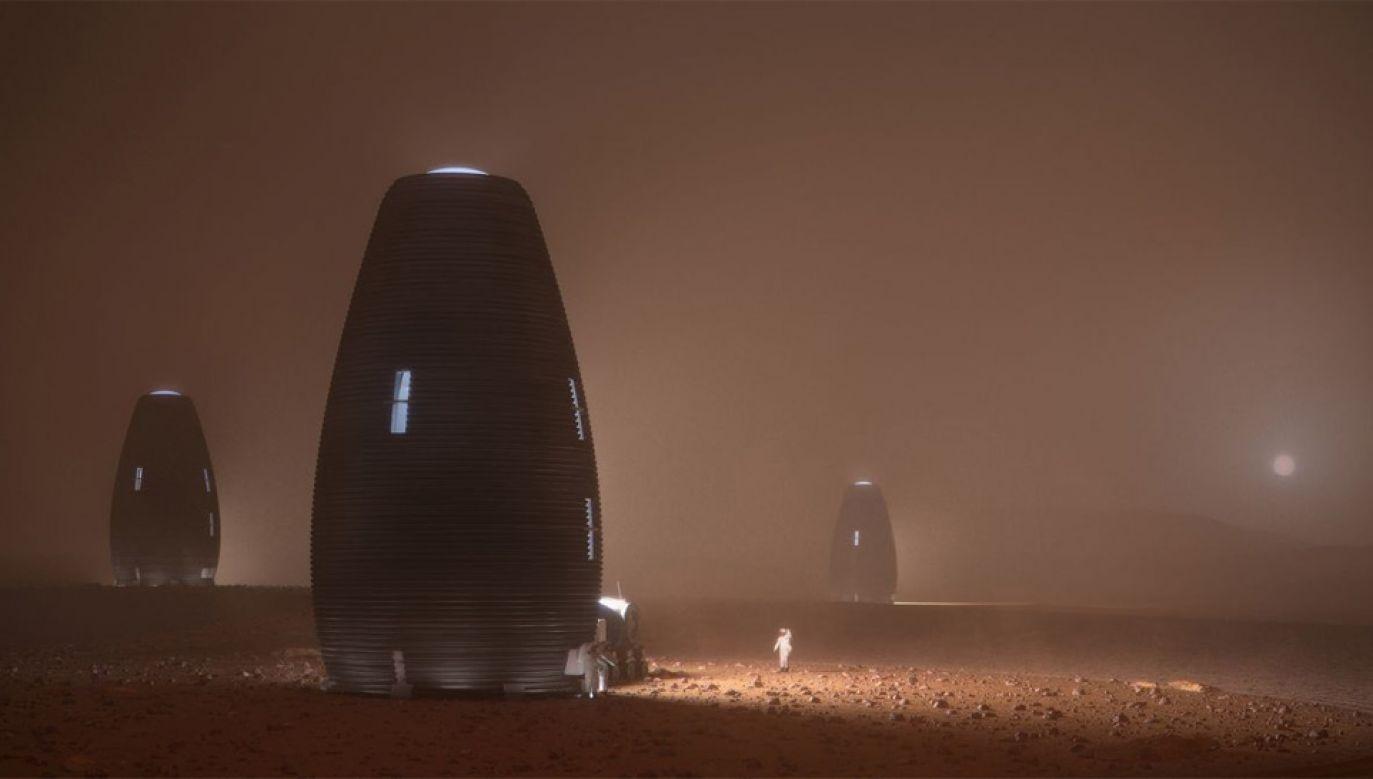Na razie nie wiadomo, kiedy podobne domy na Marsie zostaną zamieszkane (fot. mat.pras.)