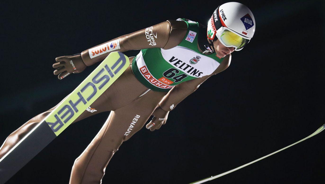 Żyła zwyciężył w kwalifikacjach przed indywidualnym konkursem Pucharu Świata (fot. PAP/Grzegorz Momot)