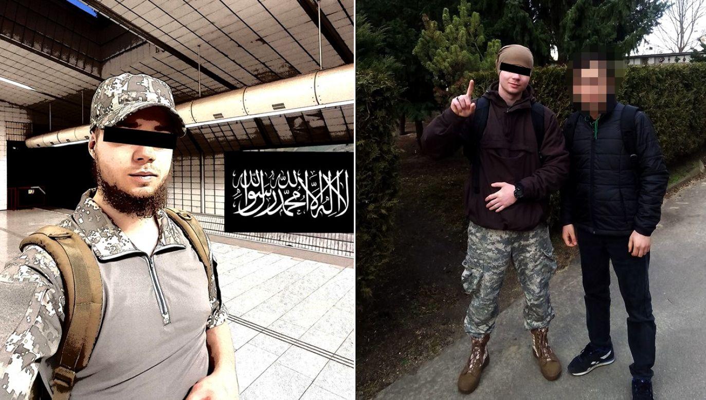 Według policji Dominik K. nawrócił się na islam trzy lata temu (fot. FB/Dominika K.)