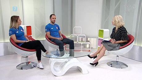 28.06.2018, Zielonogórscy akrobaci kończą karierę, goście: Anna Miadzielec i Jacek Tarczyło