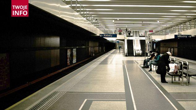 Stacja Wilanowska przez pewien czas była wyłązona z ruchu (fot. Flickr/grotos)
