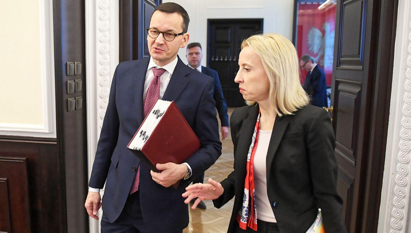 Minister Finansów Teresa Czerwińska (fot. PAP/Radek Pietruszka)