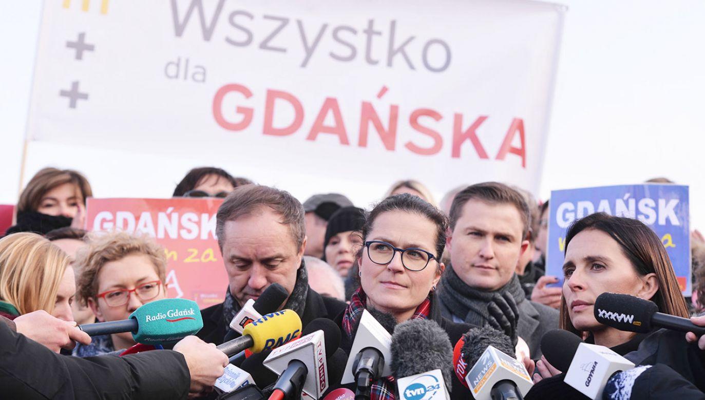 Aleksandra Dulkiewicz (fot. PAP/Jan Dzban)
