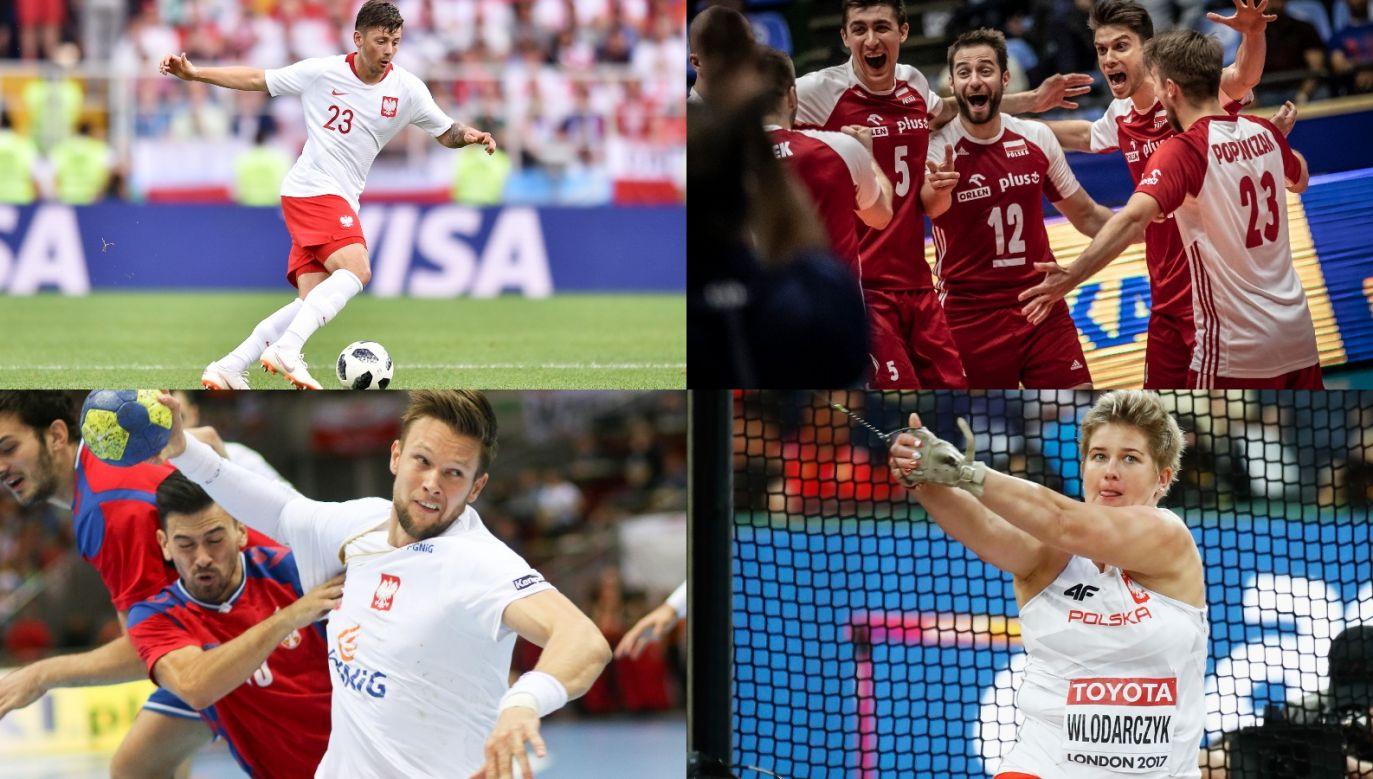 Piłka nożna, siatkówka, piłka ręczna, lekkoatletyka... Niedziela w TVP Sport będzie pełna sportowych emocji (fot. FIVB/Getty)