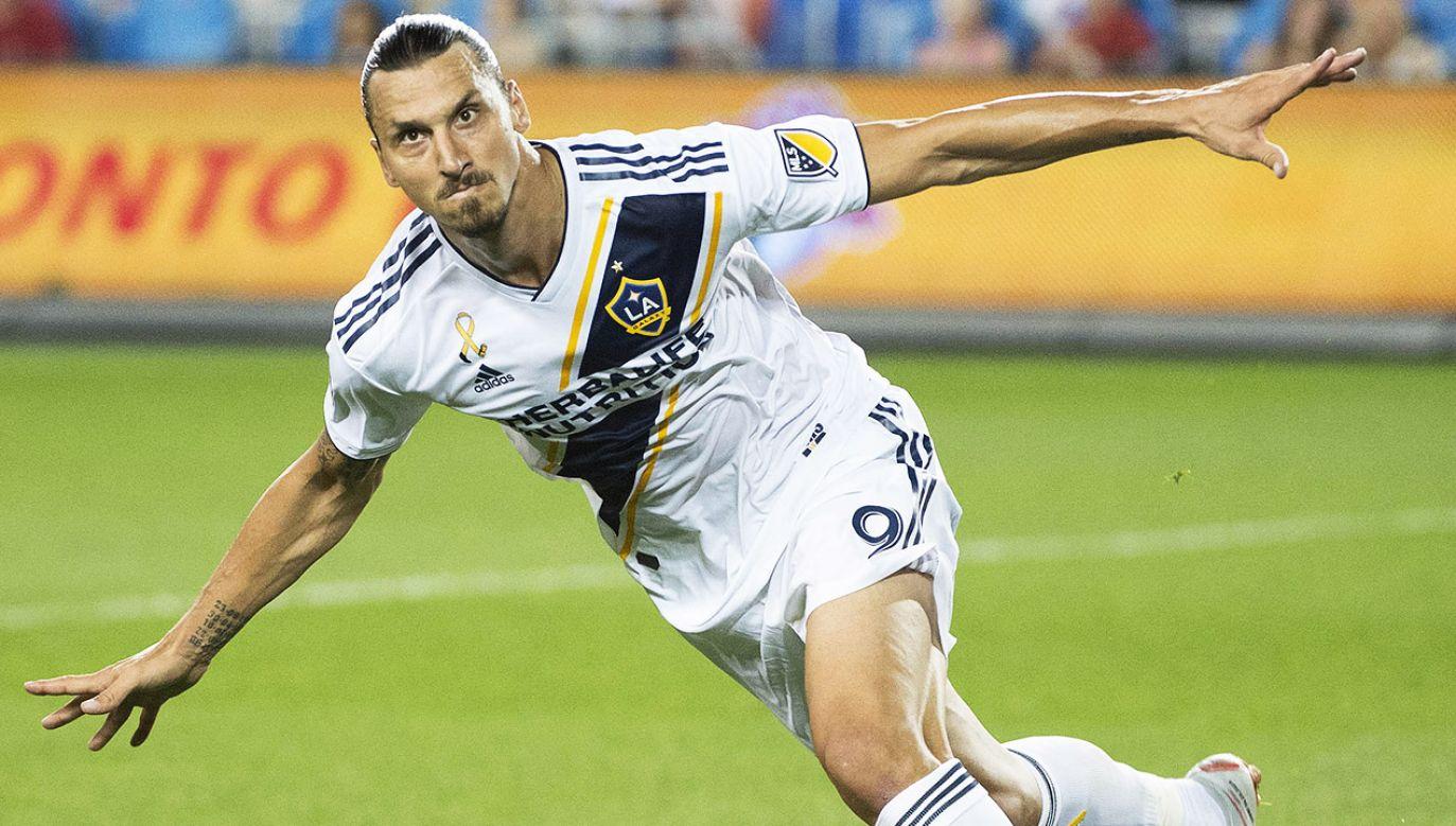 Mimo pięknego gola Zlatana Ibrahimovicia drużyna z Los Angeles przegrała 3:5 (fot. Nick Turchiaro-USA TODAY Sports)