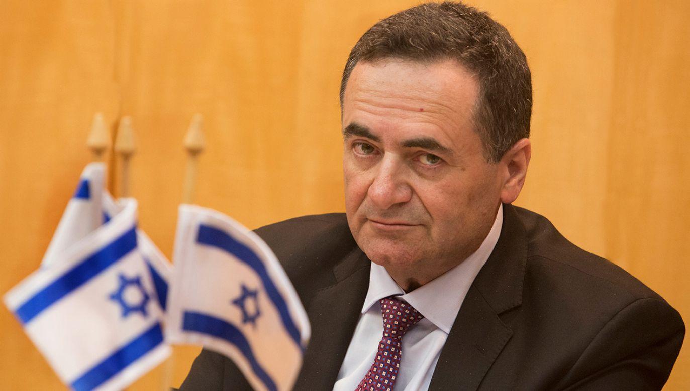 Wicemarszałek Sejmu odniósł się do słów Izraela Katza, który stwierdził, że Polacy wyssali antysemityzm z mlekiem matki, a wielu z nich kolaborowało z Niemcami (fot. Raphaël GAILLARDE/Gamma-Rapho/Getty Images)