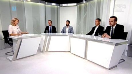 16.07.2018, Piotr Barczak PiS, Filip Gryko Zielona Razem, Tomasz Nesterowicz SLD, Marcin Pabierowski
