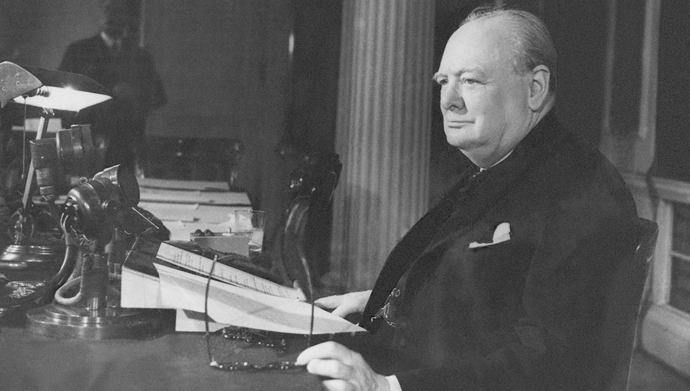 Premier Wielkiej Brytanii Winston Churchill  (fot. Keystone/Getty Images)
