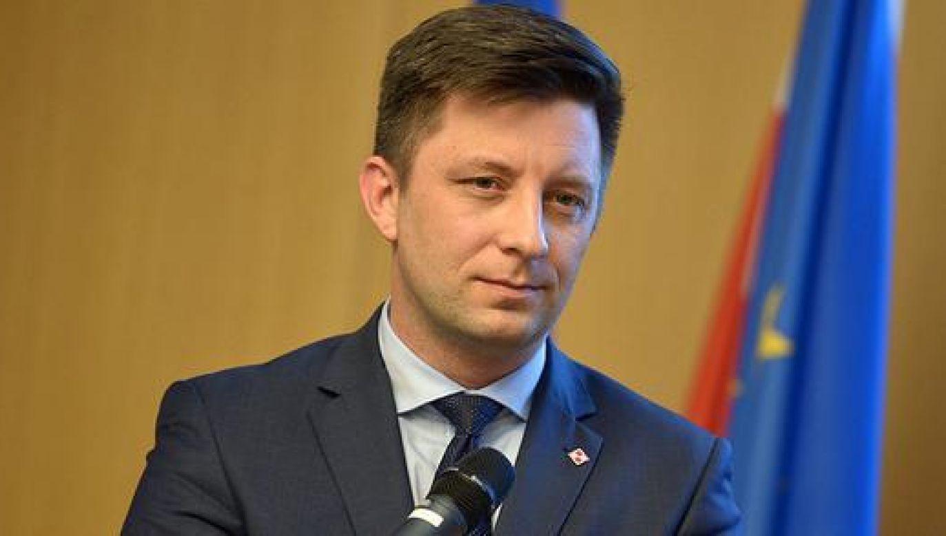 Wiceminister Michał Dworczyk (fot. mon.gov.pl)