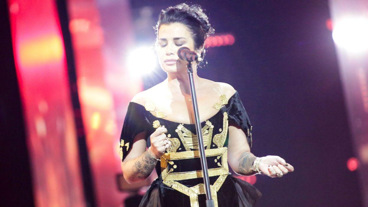 Reprezentantce Albanii scena nie jest obca.  Ma na swoim koncie wiele nagród i wyróżnień, w tym pierwsze miejsce na największym muzycznym wydarzeniu Albanii Kënga Magjike. W Izraelu szczęścia zabrakło (fot. Andres Putting/EBU)