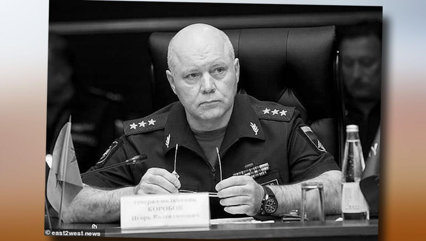 Gen. Igor Korobow kierował GRU od 2016 roku (fot. TT/FGTNews)
