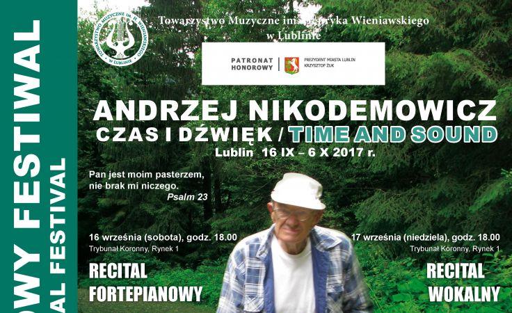 VI Międzynarodowy Festiwal (plakat organizatora)