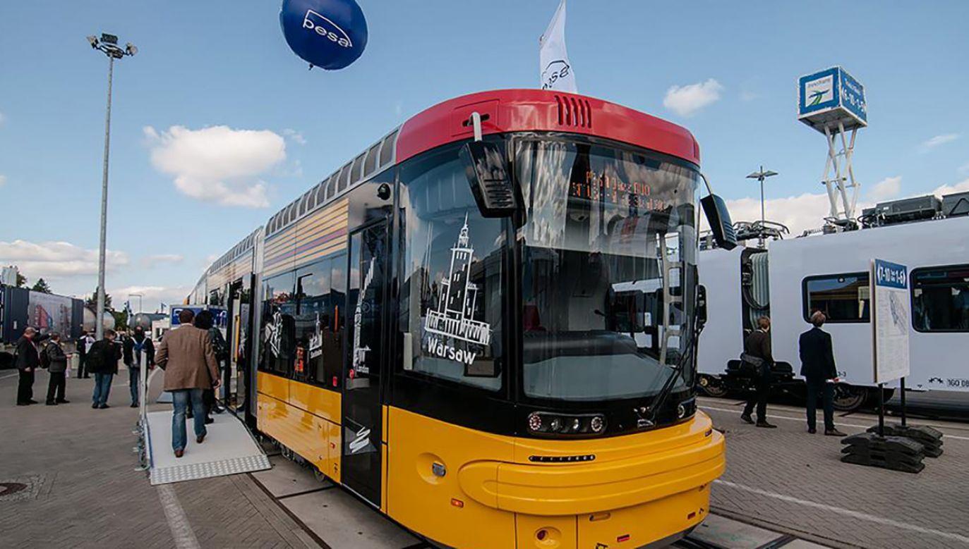 PESA dostarczyła do europejskich miast, również do Warszawy, 680 tramwajów (fot. FB/ PESA BYDGOSZCZ)