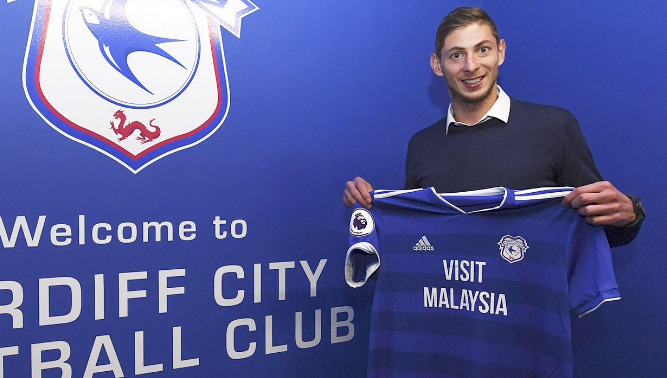 Emiliano Sala (fot. Cardiff City FC/Getty Images)