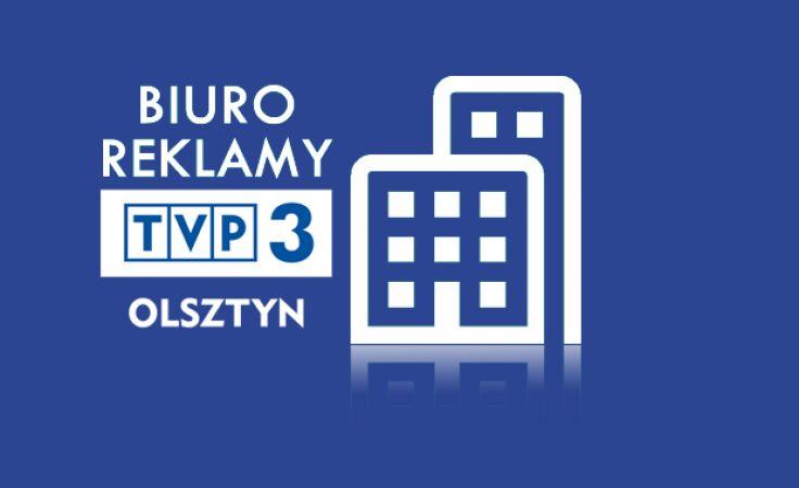 Biuro reklamy TVP3 Olsztyn.