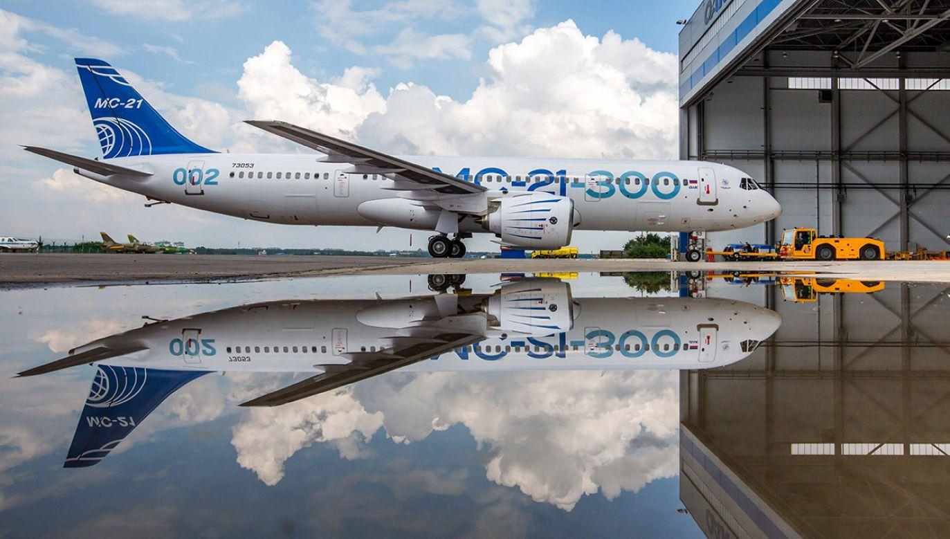 Obecny termin rozpoczęcia seryjnej produkcji samolotu to koniec 2020 roku (fot. arch.PAP/ITAR-TASS)