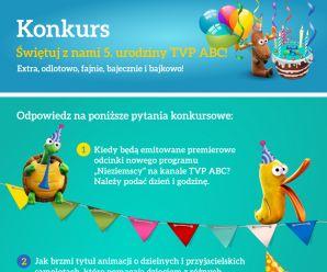 Konkurs - Urodziny TVP ABC na Piątkę!