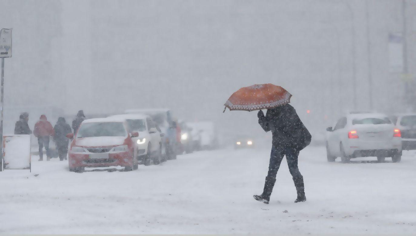 Nad Polską przeszedł orkan Fryderyka (fot. PAP/EPA/SERGEY DOLZHENKO)