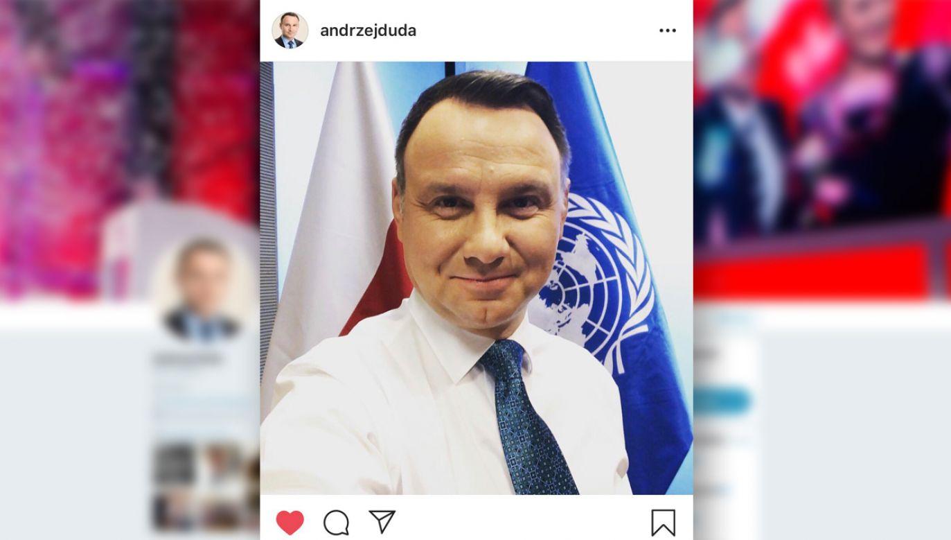 Na Instagramie Andrzeja Dudy przez 6 lat nic się nie działo  (fot. TT/Instagram/Andrzej Duda)