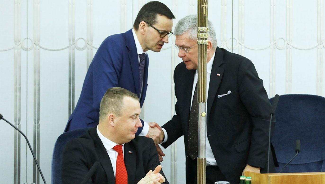 Senat zajął się ustawą budżetową na 2019 r. (fot. PAP/Rafał Guz)