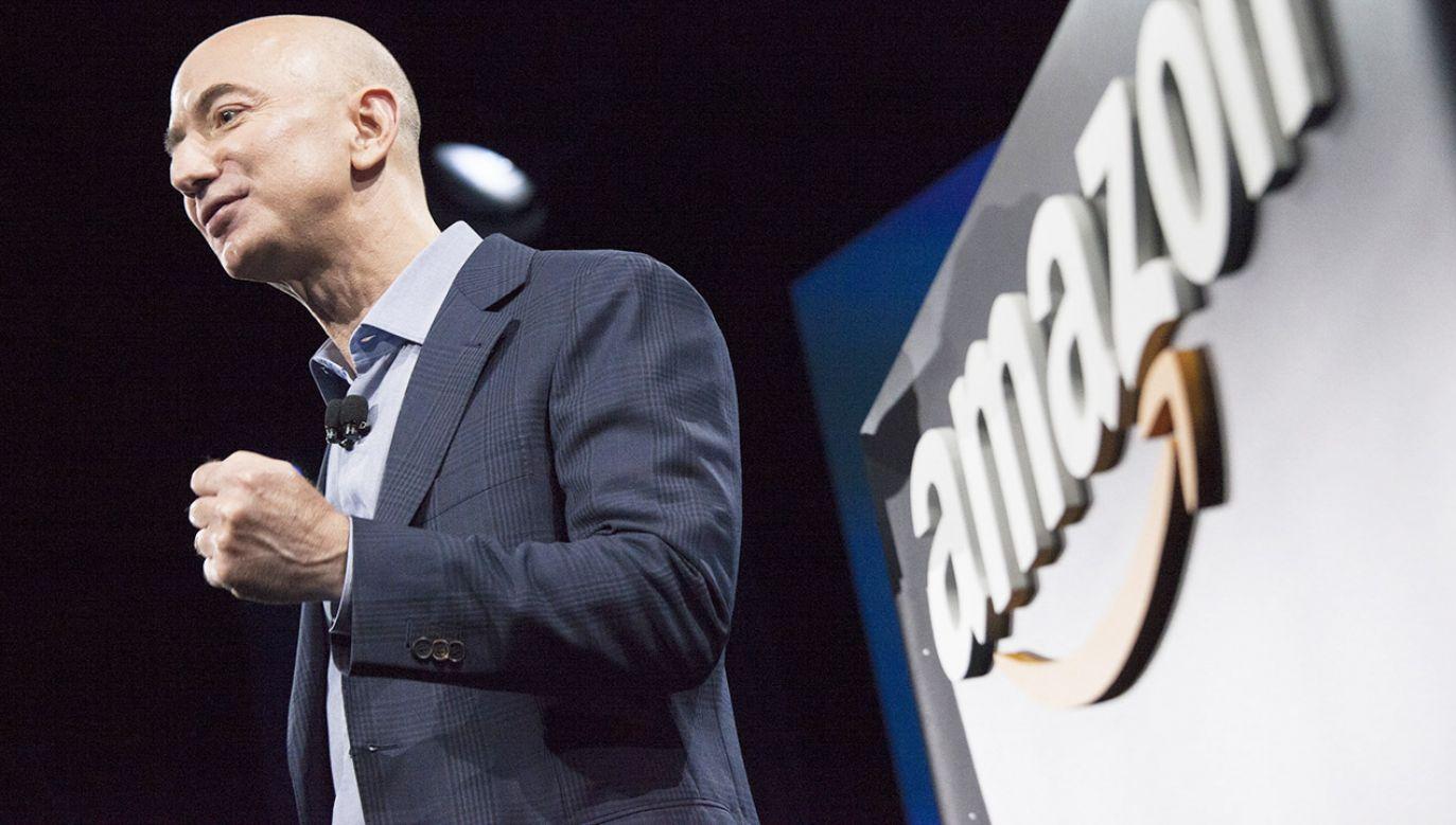 Majątek Jeffa Bezosa przekroczył 150 mld dolarów (fot.David Ryder/Getty Images)