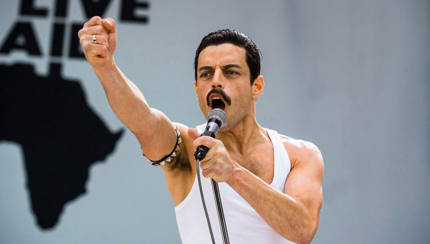 Rami Malek jest nominowany do Oscara za rolę Freddie'ego Mercury'ego (fot. mat.pras.)